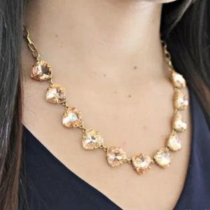 Stella & Dot Somerville Jeweled Necklace